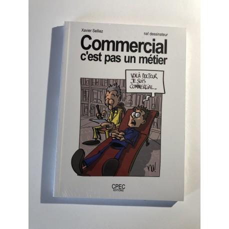 livre «commercial c'est pas un métier»